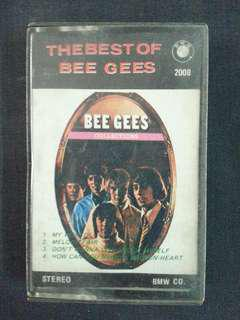 The Best of Bee Gees Cassette 錄音帶