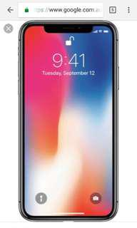 iPhone x . I wanted looking for iPhone X or 8 - 8plus with Cracked screen or damage. CASH! CASH!