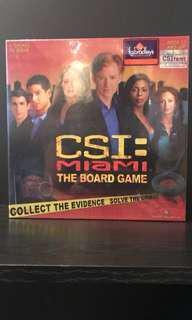 CSI Miami boardgame