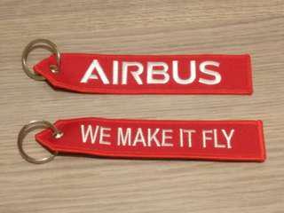 空中巴士鎖匙扣 Airbus key ring