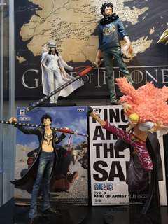 Banpresto One Piece & Dragon Ball Figures