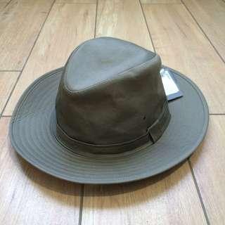 Topi Marks & Spencer Hat Original Authentic 100% for Man / Men, colour : Khaki
