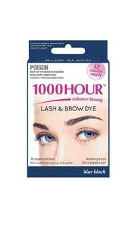 Eyelash & Brow Dye / Tint Kit Permanent Mascara (Blue Black)