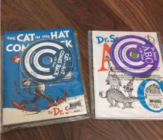 PL Dr Seuss ABC & The Cat in the Hat Comes Back w Audio CDs