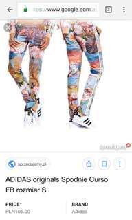 Adidas Curso Print Track Pants