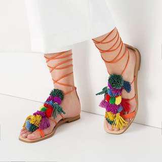 Zara sandals size 38