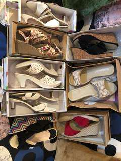 Bundle 8 pairs shoes