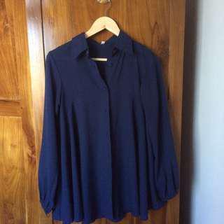 Dongker blouse