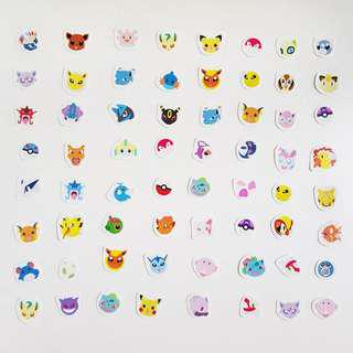 🚚 Pokemon Icon Stickers