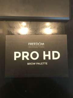 Never used Freedom Pro HD Eyebrow Palette