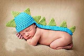 Knitted costume for new born