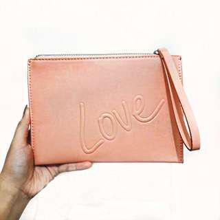 Mango Pink Love Clutch
