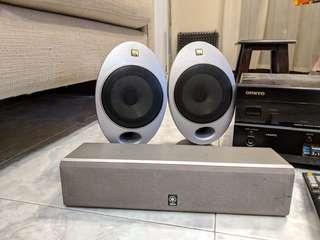 5 speaker 加 AV amp
