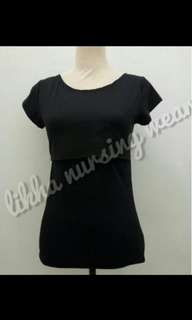 Black Nursing Top