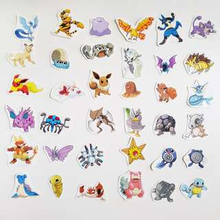 🚚 Pokemon Stickers (Instocks)