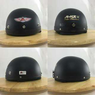 Helmet Mhr 3 Hitam mati