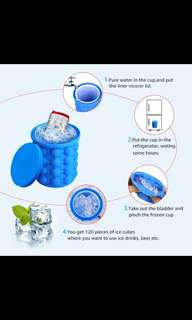 Ice bucket maker