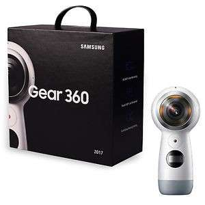 SAMSUNG Gear 360 (2017) SM-R210, NEW 4K VR Camera for Galaxy S8 S8+ S7 iPhone 7 US