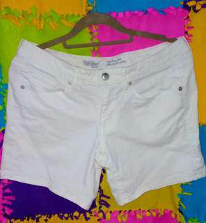 Mossimo white short