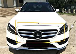 Merc C class W205 front grill