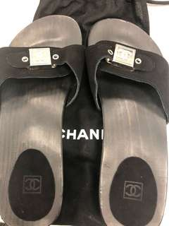 Chanel Slippers (size 39)