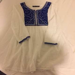 Zara Linen Tunic/dress