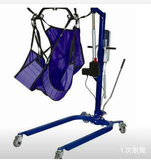醫療用品-ALPHA 電動移位機及另附一條全新吊乘帶