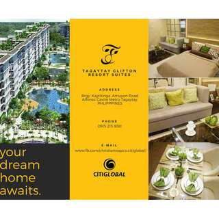 CONDOTELS IN TAGAYTAY (FOR INVESTMENT)