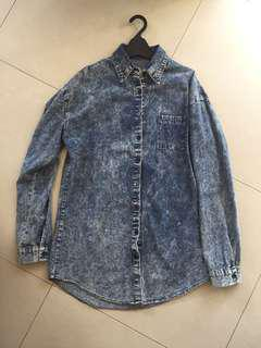 Korean Brand Denim Shirt