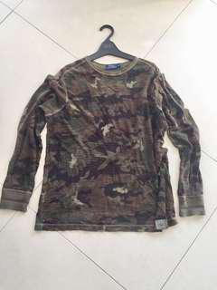 Polo Ralph Lauren Camo Sweatshirt XL