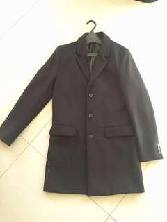 River Island Overcoat - Size Medium