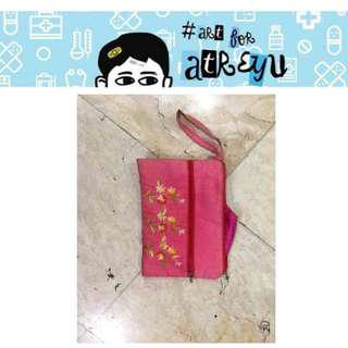 Floral Pink Pouch