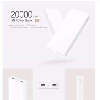 Xiaomi Gen 2C 20000mah Powerbank