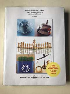 Cost Management A Strategic Emphasis 7th Edition
