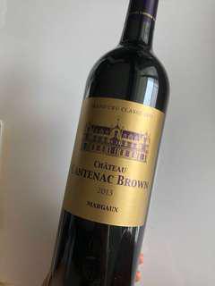 紅酒 Red wines - Margaux Grand Cru Classé 1855 - Château Cantenac Brown 2013