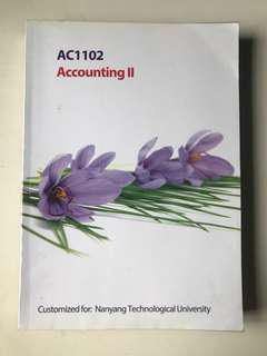 AC1102 Accounting II textbook