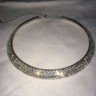 diamond hard choker