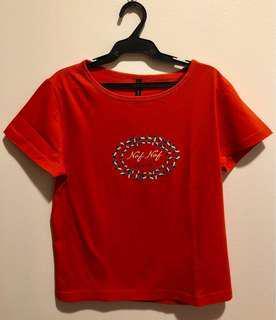 NafNaf Orange Shirt (Size 3)