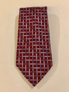 Jones New York 100% Silk Printed Necktie