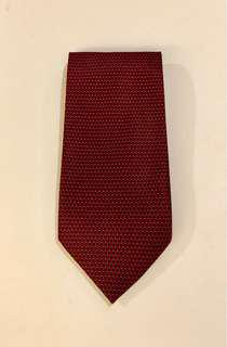 Picasso Italia Wine Red Printed Necktie (EUC)