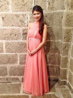 REPRICED Pink Infinity Gown