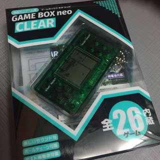 日本 Game box neo 遊戲機 內藏26隻game. 連匙扣