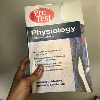 Pre Test Physiology 13th Edition