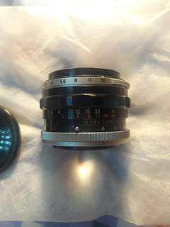 Canon lens fl 50mm