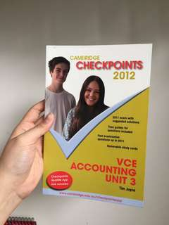 Cambridge Checkpoints 2012 VCE Accounting Unit 3
