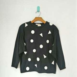 Black Motif Sweatshirt