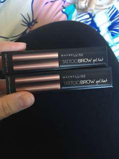 Maybelline Brow Tattoos Brand New!