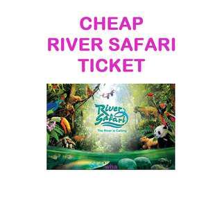 CHEAP River Safari Tickets
