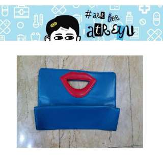 Maybelline Blue Hand Bag