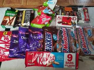 Imported chocolates 🍫
